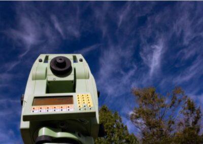 this image shows los angeles lidar surveyor company